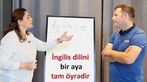 Bu müəllim 30 günə ingilis dilində danışmağı tam öyrədir!