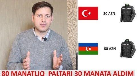 Azərbaycanda su qiymətinə brend paltarlar