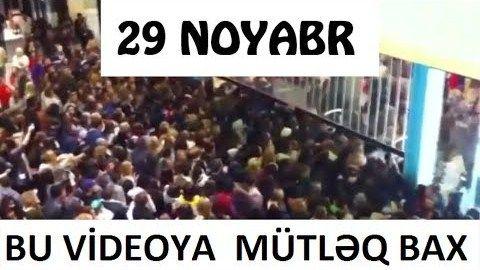 Hamı 29 noyabrı gözləyir - Qara Cümə günü gəlir