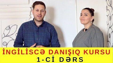 Azərbaycanda ilk dəfə pulsuz İNGİLİSCƏ DANIŞIQ KURSU - 1 ci dərs