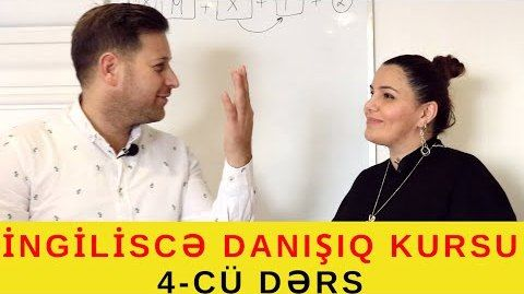 İngiliscə danışıq kursu - 4 -cü DƏRS / WILL/ GƏLƏCƏK ZAMAN