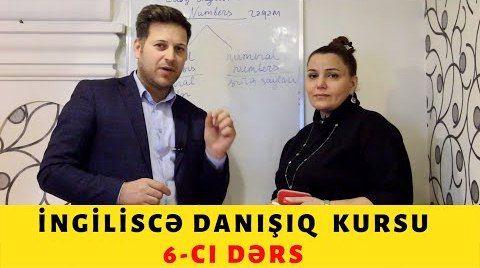 İngiliscə danışıq kursu - 6 - cı DƏRS - Sıra Sayları / ORDİNAL NUMBERS