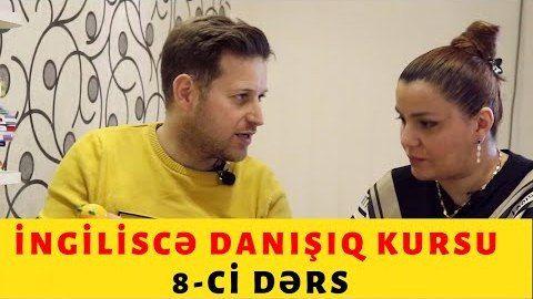 İngiliscə danışıq kursu - 8-ci dərs /am, is, are