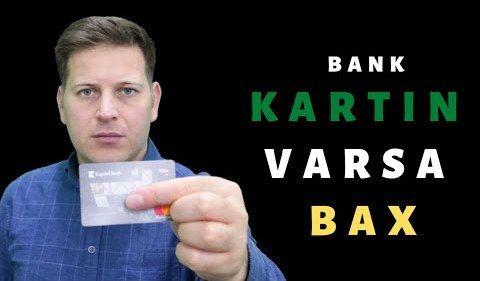 Bank kartınız varsa, bu videoya MÜTLƏQ BAXIN  - bilmədiyiniz məlumatlar