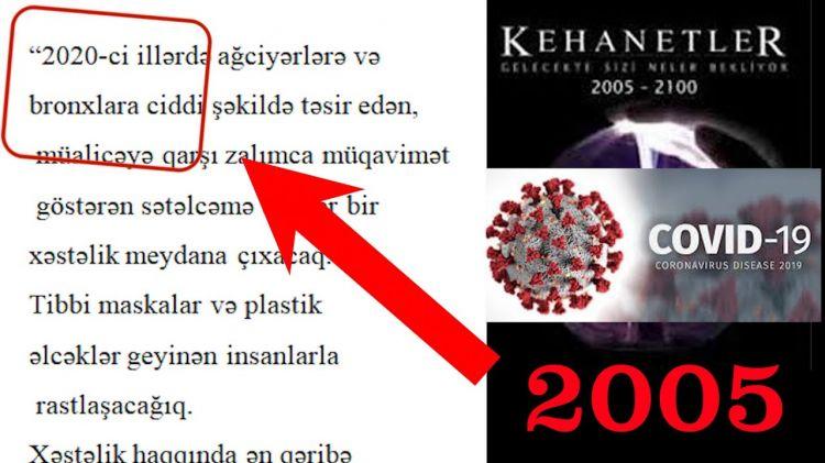 Sözün bitdiyi an - Virus haqda 2005-ci ildə kitabda YAZILIB