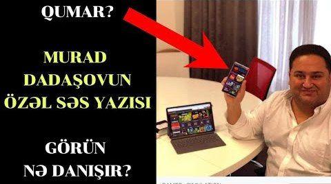 Şok - Murad Dadaşovun səs yazısı- O bu oyunu...