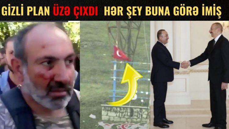 Paşinyanın Bakı və Ankara ilə bağlı GİZLİ PLANI üzə çıxdı  - SƏN DEMƏ...