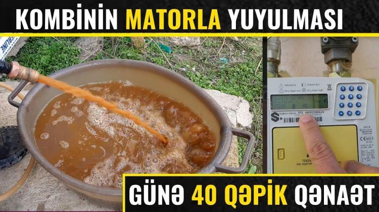 Kombi və radiyatırları TƏCİLİ yuduzdurun  - Günə 40 qəpik qənaət edir