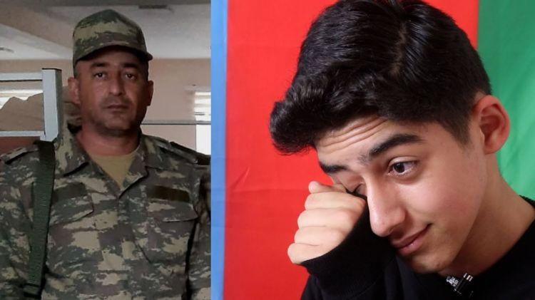 Şəhid leytenantın oğlunun ürəkdağlayan sözləri - Zəng edib dedi ki...