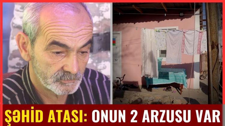 Şəhid Əlinin atası: - Gedəcəm, hamısını öldürəcəm!!!