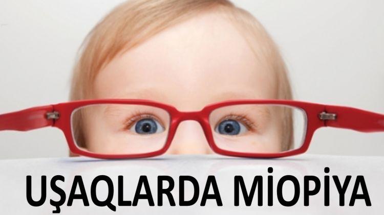 Uzağı zəyif görən uşaqlar - Miopiya xəstəliyi