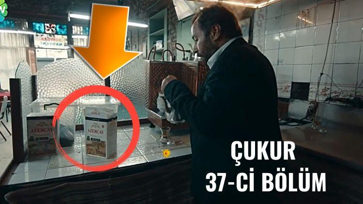 """DİQQƏT! Görün """"Çukur"""" serialında Azərbaycan çayı haqda nələr dedilər  Video"""